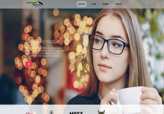 Návrh webdesignu s možností kompletního nakódování