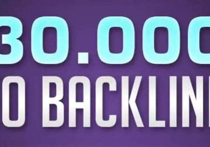30000 zpětných odkazů pro váš web