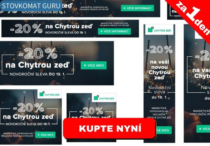 Bannerová reklama - Google Ads / Sklik (Seznam) / FB