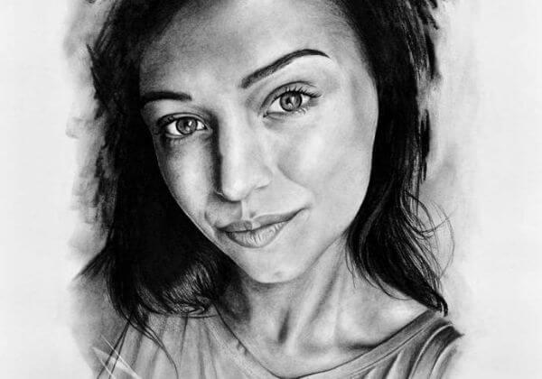 Nakreslím portrét dle vlastní fotografie formátu A3
