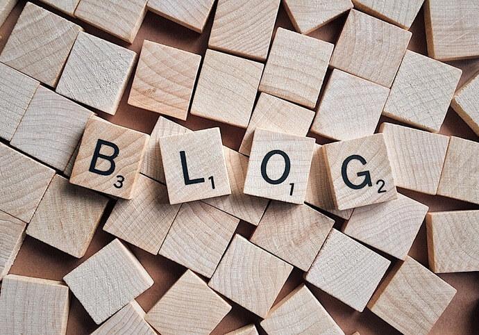 Napíši článek na blog