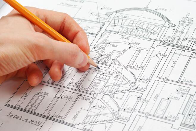 Překreslení, rýsování  technických výkresů do AutoCAD