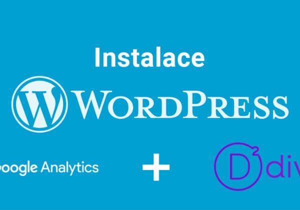 Instalace Wordpressu