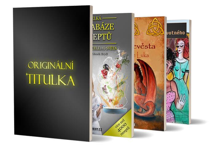 Návrh titulky (obal) knihy, e-knihy