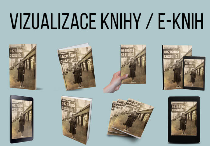 8 x vizualizace knihy / e-knihy