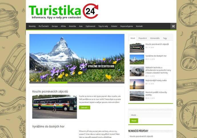 Publikace na Turistika24.cz