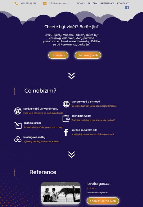 Responzivní web na míru