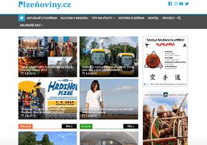 Publikace PR článku ve zpravodajském magazínu Plzenoviny.cz