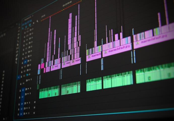 Profesionální střih filmů & videí