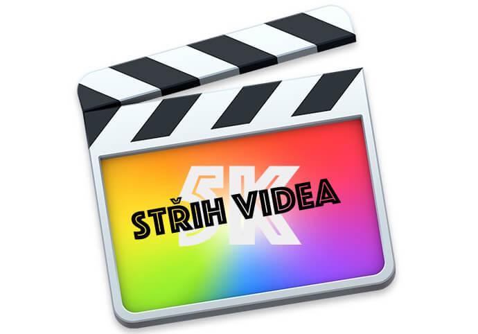 Střih videa ve fotmátu až 5K!!