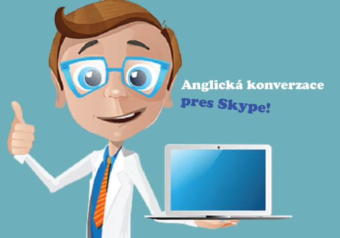 Anglická konverzace přes Skype