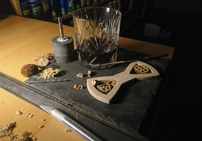 Miluji přírodní materiály! Chci tvořit!