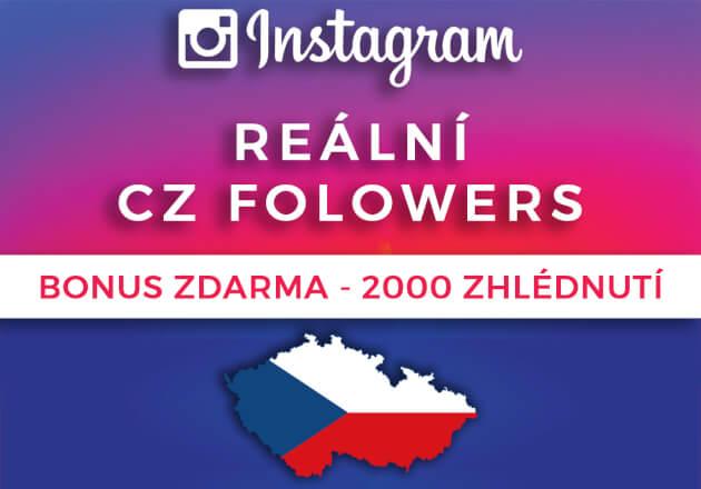 Až 1000 CZ reálných fanoušků + Likes zdarma!