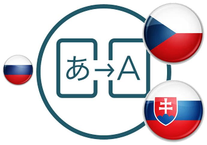 Preklady z RU do SK/CZ jazyka