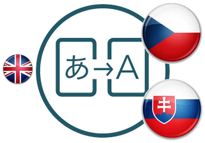 Preklady z EN do SK/CZ jazyka