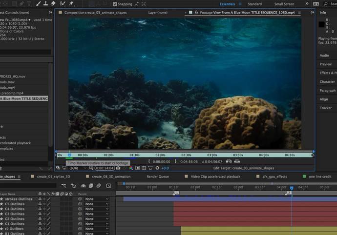 Editace vašeho videa v profesionálním programu
