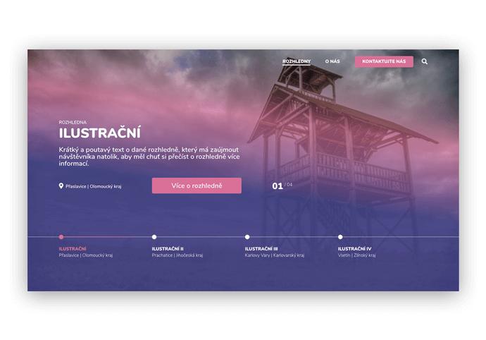 Moderní webdesign s důrazem na CTA prvky