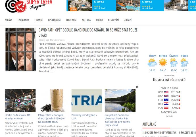 Článek do magazínu Super-trefa.cz