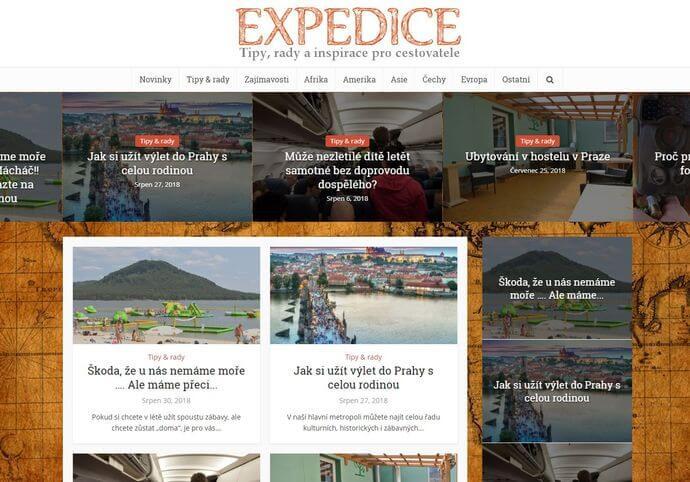 Publikace na Expedice.eu