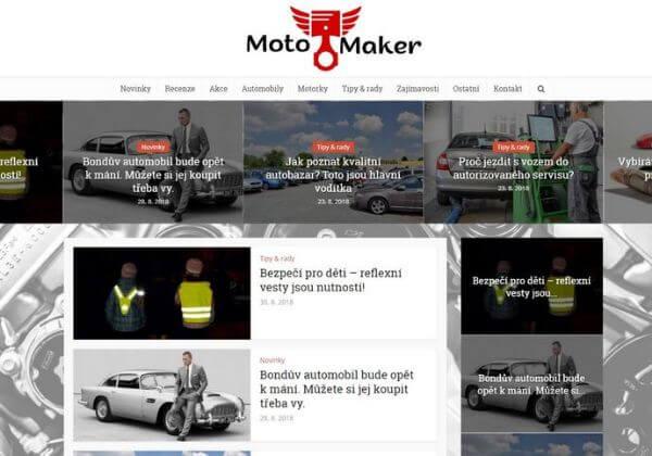 Publikace na Motomaker.cz