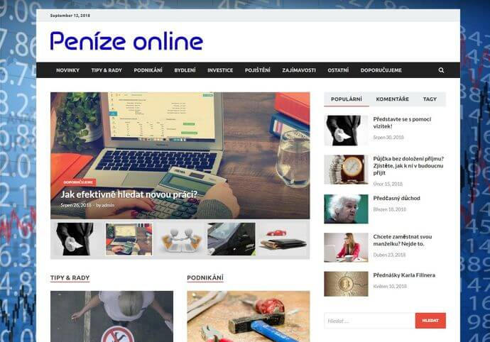 Publikace na Penizeonline.eu
