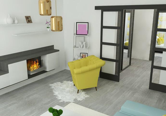 3D vizualizácia interiéru alebo exteriéru