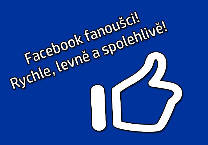 Facebook Fanoušci! 200+ fanoušků z celého světa za 250 Kč!