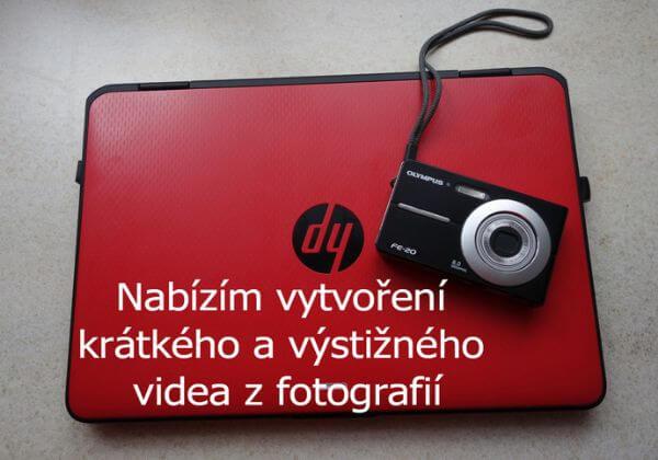 Vytvořím krátká videa z fotografií