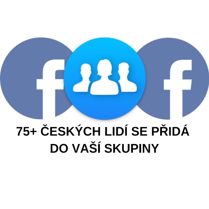 75+ českých lidí se přidá do vaší FB skupiny