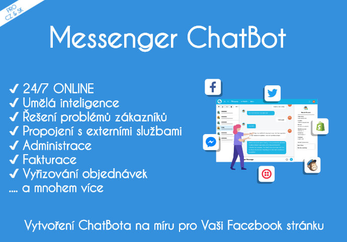 Messenger ChatBot v SK | CZ
