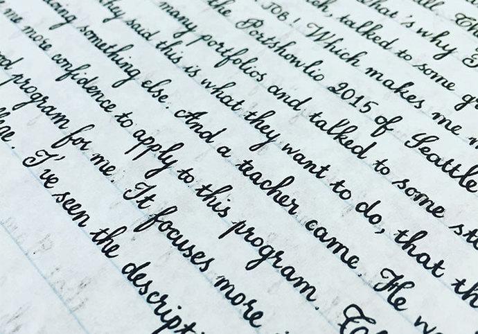 Přepis textu/mluveného slova