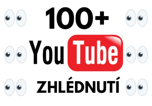 100x zhlédnutí videa na youtube od  Českých uživatelů
