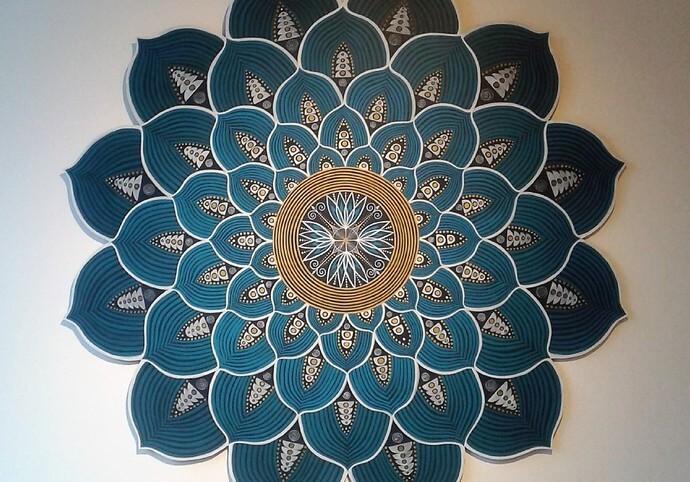 Mandala Art ( rucni kresba/malba)