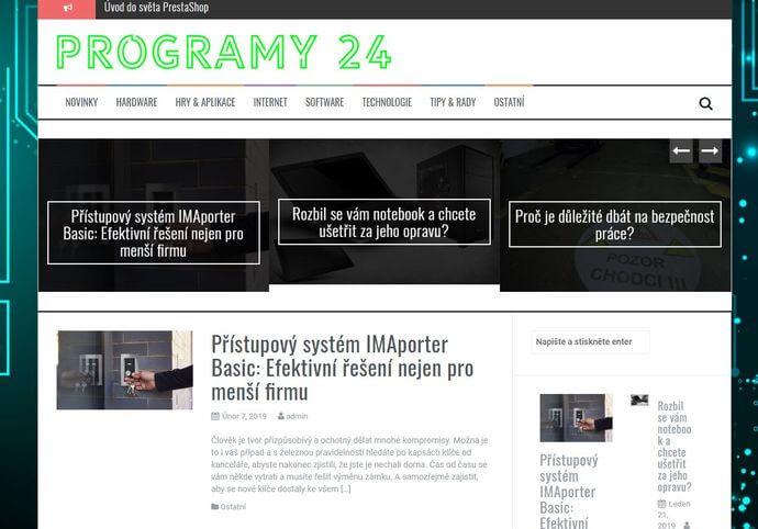 Publikace na Programy24.eu
