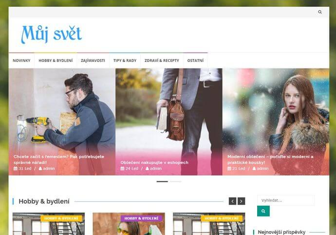 Publikace na Mujsvet.eu
