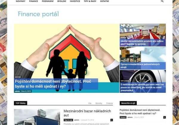 Publikace na Financeportal.eu