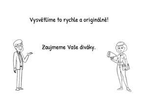 Kreslené animované video