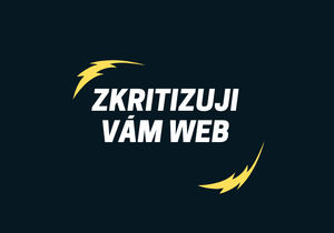 UX - audit webu