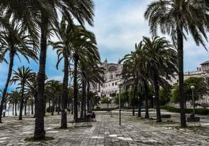 Pohled z ostrova Mallorca pro radost