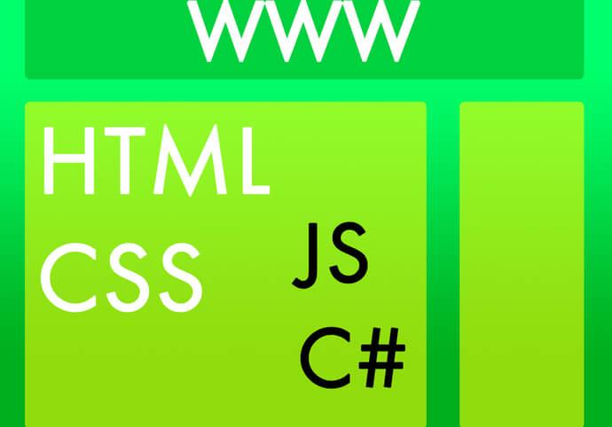 Vytvoření webové vizitky, HTML, CSS, JS, C#