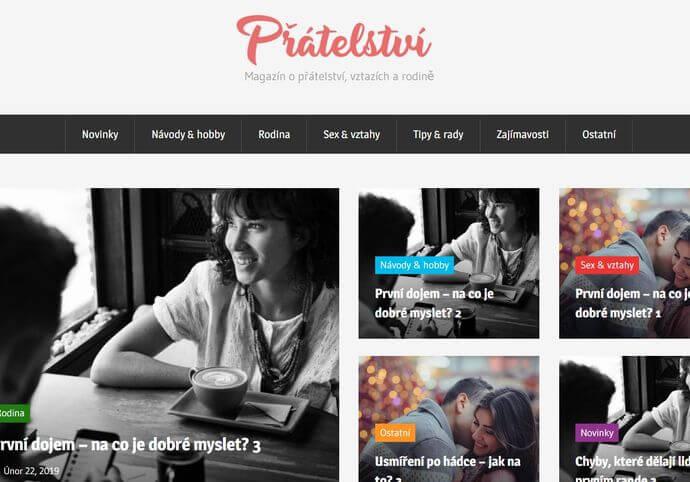 Publikace na Pratelstvi.eu
