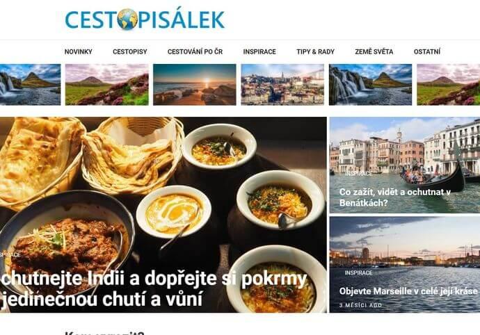 Publikace na Cestopisalek.cz