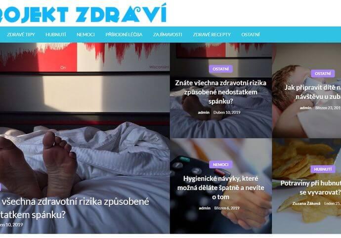 Publikace na Projekt-zdravi.cz