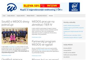 Trvalý PR článek na webu Wedos-akce.cz