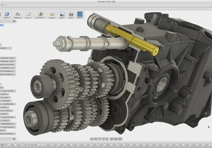 Inventor, AutoCad - Tvorba 3D modelů a kreslení výkresů