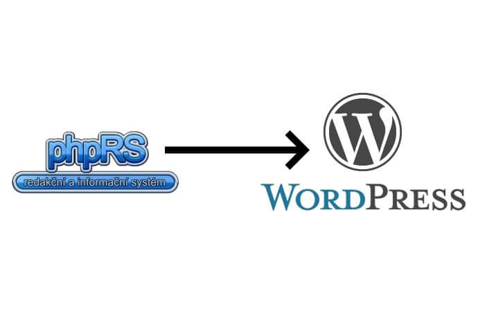 Převedu obsah z phpRS do Wordpress