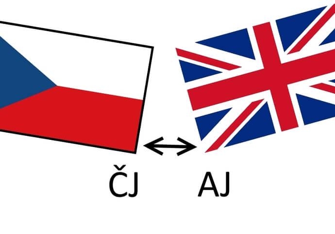 Překlad AJ <=>ČJ, 1 NS