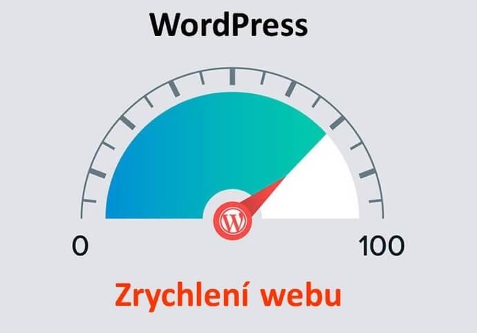 Wordpress - zrychlení webu - optimalizace rychlosti