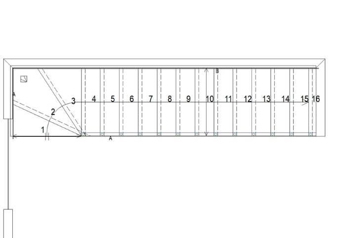 schodiště výroba / projekt / výkresy