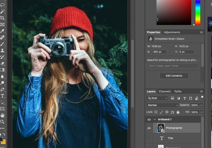 Úprava fotografií (komplexní vylepšení vzhledu fotek)